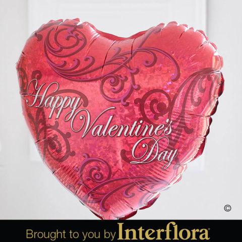V41311ZF happy valentines day balloon