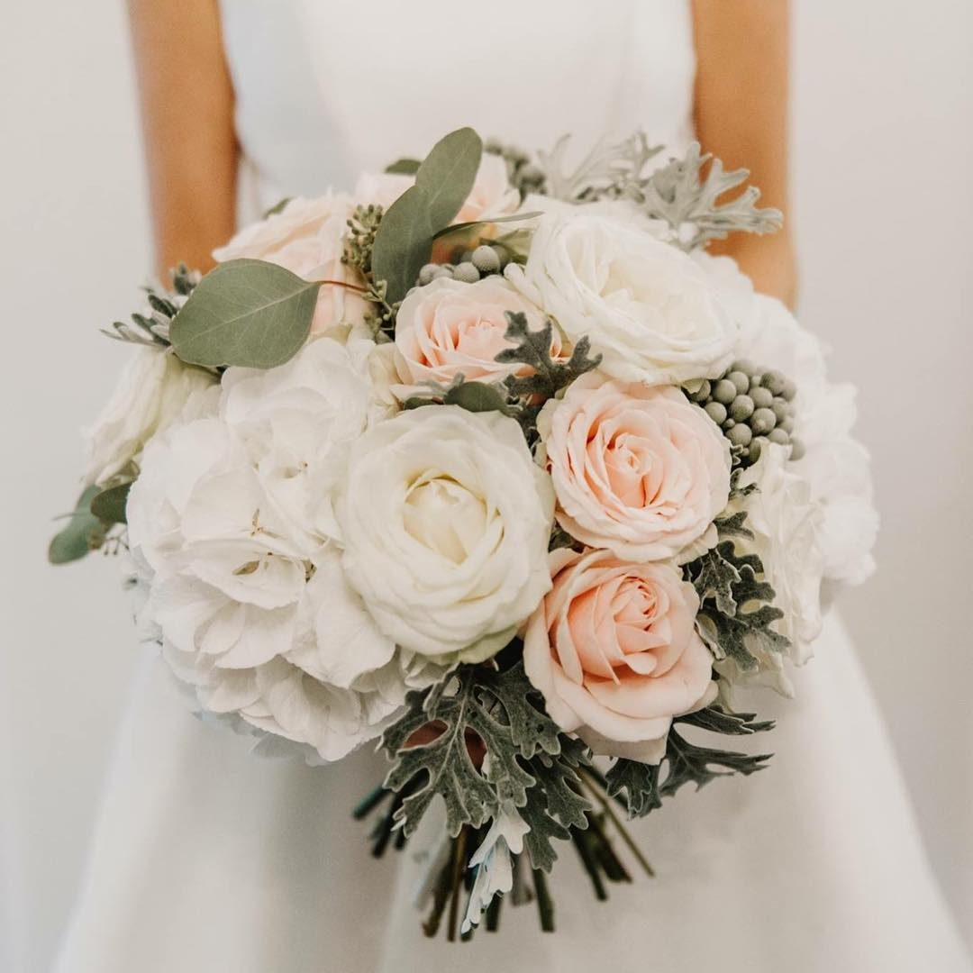 Grey And Pink Tones Make A Stunning Bouquet Jane Maples Flowers