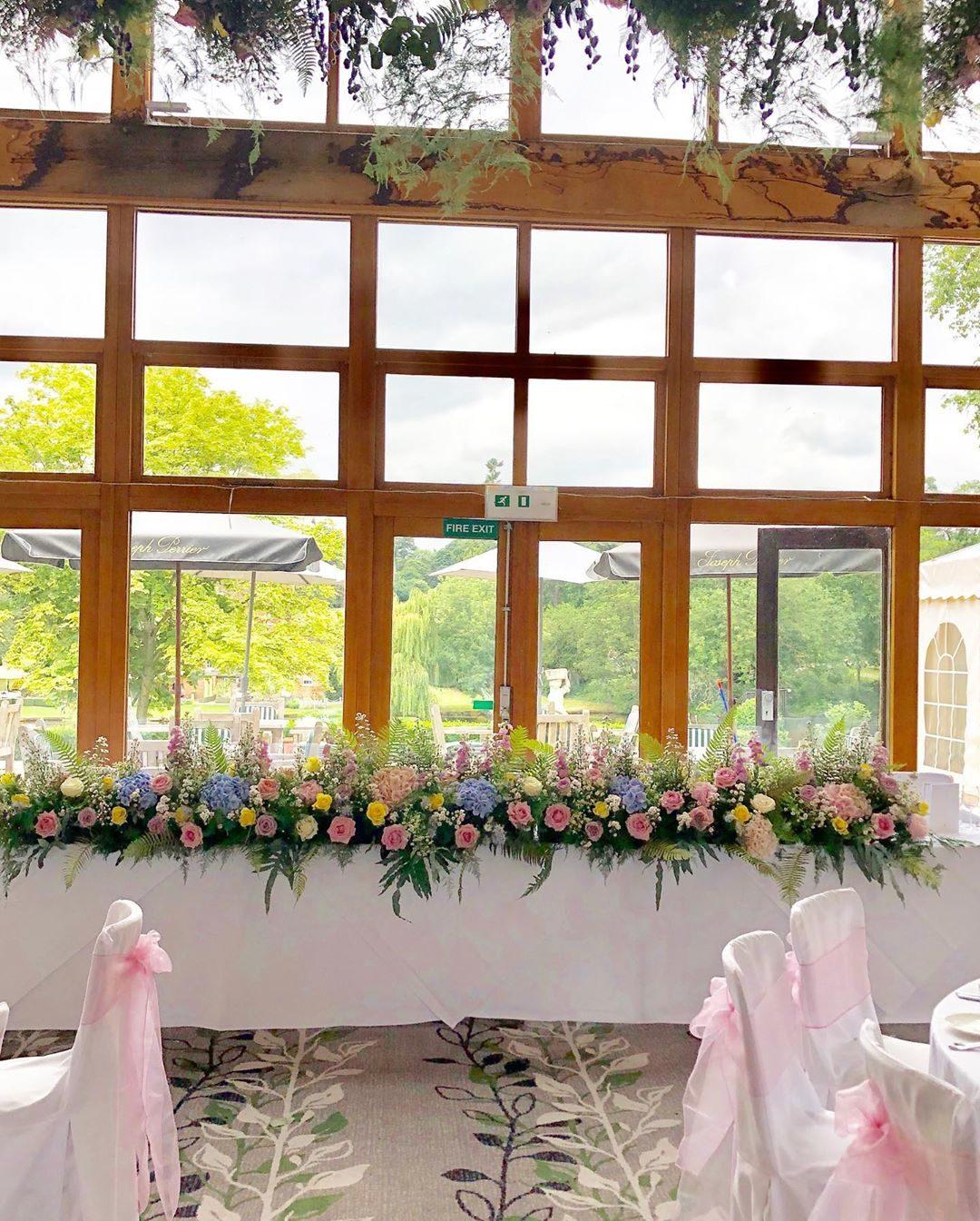 Wild Flowers For Wedding: Wild Flower Wedding @ Brocket Hall